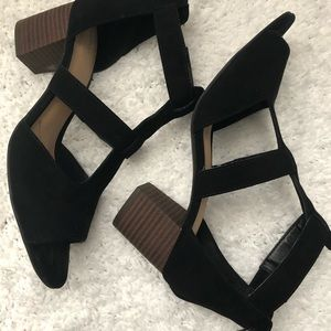 Clark's Suede Sandals - Size 8.5